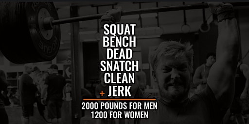 One Ton Challenge-Hosted by CrossFit 321