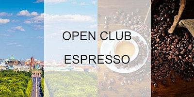Open Club Espresso (Berlin) - September