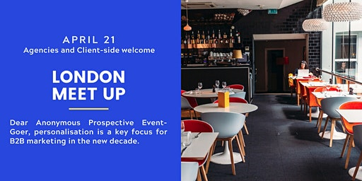 Business Marketing Club London Meet-Up - Client Side & Agencies Welcome