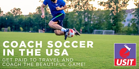 Coach Soccer USA - Recruitment Day - Galway tickets