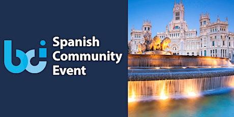 BCI Spanish Community Event tickets