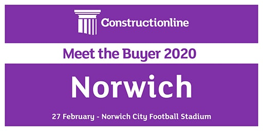 Norwich Constructionline Meet the Buyer 2020