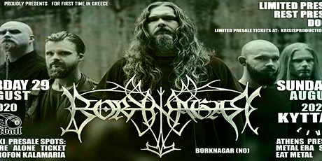 Borknagar Live in Athens tickets