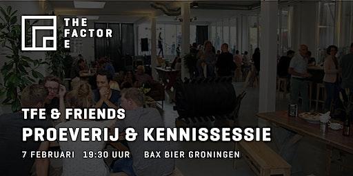 TFE & Friends | Proeverij en kennissessie bij Bax bier