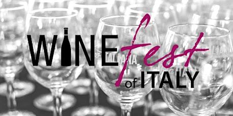 Winefest of Italy 2020 • Festa Italiana tickets