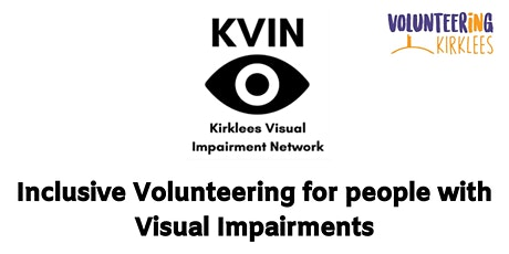 Inclusive Volunteering for people with Visual Impa tickets