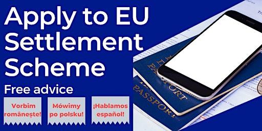 EU citizens: Apply to EU Settlement Scheme