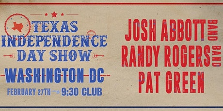 Josh Abbott Band, Randy Rogers Band, and Pat Green tickets