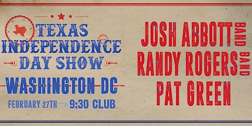 Josh Abbott Band, Randy Rogers Band, and Pat Green