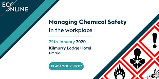 Free Workshop Limerick : Managing Chemical Safety in the Workplace
