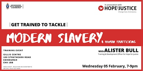Get Trained to Tackle Modern Slavery and Human Trafficking tickets