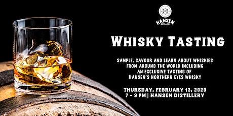 Hansen Distillery Presents: Around the World Whisky Tasting tickets