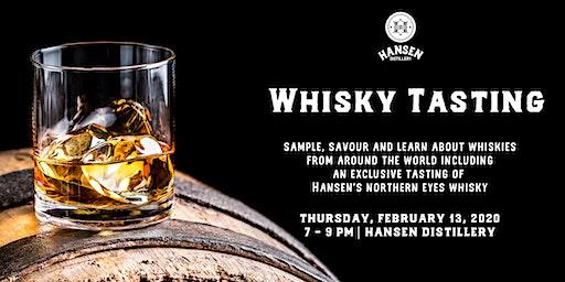 Hansen Distillery Presents: Around the World Whisky Tasting