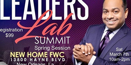 """""""The Leaders Lab"""" Spring Session  tickets"""