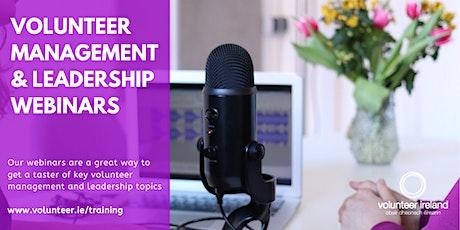 Advancing your volunteer interviewing skills (Webinar) tickets