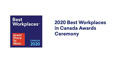 2020 Best Workplaces in Canada Awards Ceremony