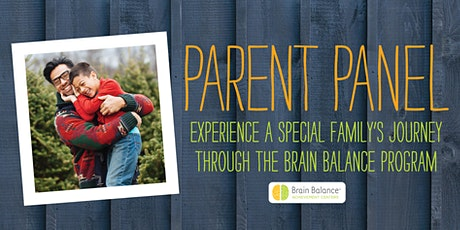 Parent Panel A Family's Journey - Brain Balance Centers of Summit tickets