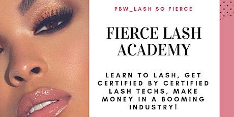 Fierce Lash Academy Lash Lift Class tickets