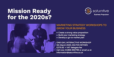 Marketing Strategy Workshop for SMEs tickets