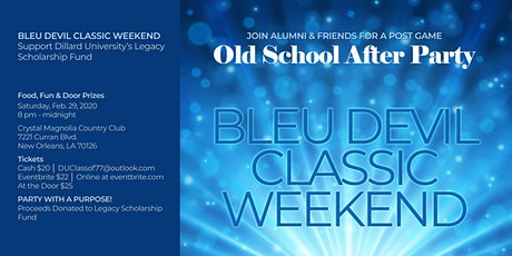 Bleu Devil Classic Old School After Party 2020 tickets