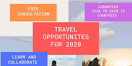Travel Opportunities for 2020
