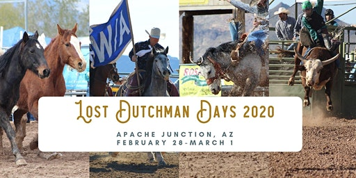 Lost Dutchman Days Rodeo 2020