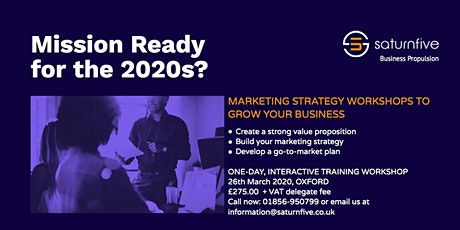 Copy of Marketing Strategy Workshop for SMEs tickets