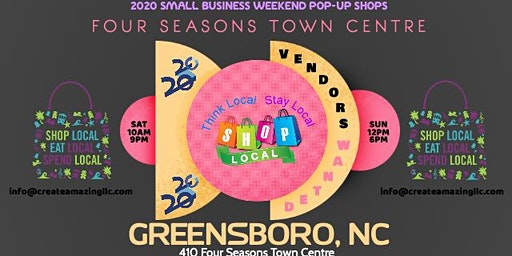 Small Business Popup Shop (Greensboro)