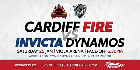 Cardiff Fire vs Invicta Dynamos tickets