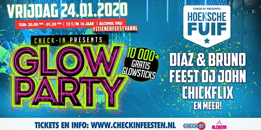 Check-IN ✪ Hoeksche Fuif (Glow in the Dark)