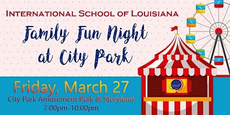 ISL Family Fun Night at City Park tickets