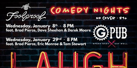 Foolproof Comedy Night @ GPub tickets
