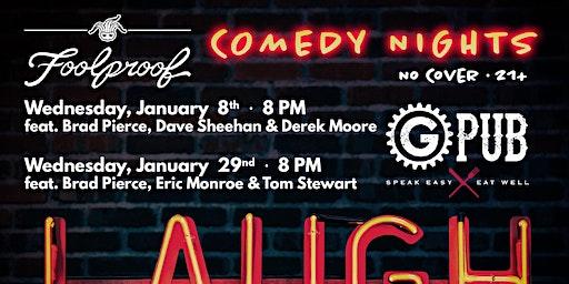 Foolproof Comedy Night @ GPub