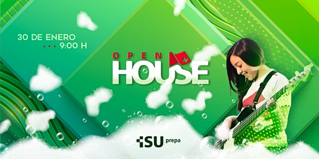 OPEN HOUSE ISU PREPA - ENERO 2020 boletos