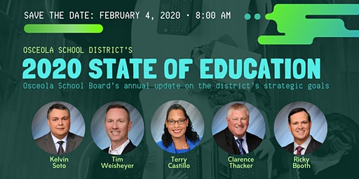 Osceola School District's  2020 State of Education Address