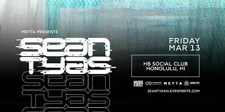 Sean Tyas at HB Social Club tickets