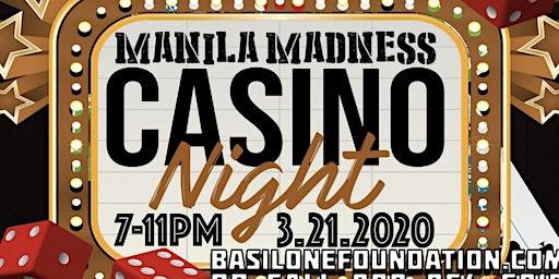 Manila Madness Casino Night