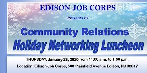 Edison Job Corps Academy Community Networking Luncheon