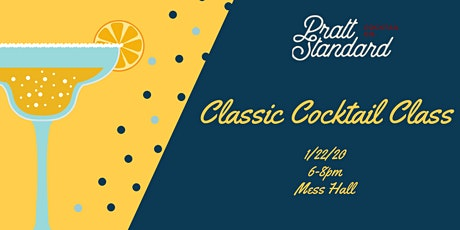 Classic Cocktail Class- January tickets