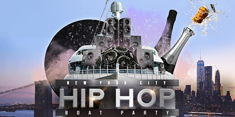 The #1 HIP HOP & R&B NYC Yacht Cruise Boat Party  tickets