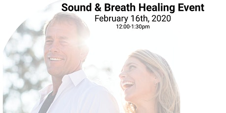 Align yourself with Love at a POWERFUL Sound & Breath Event tickets