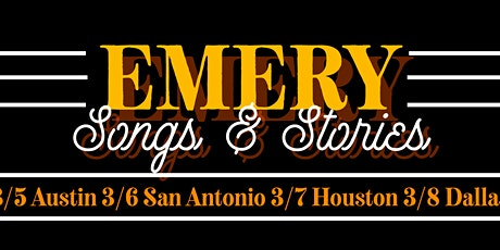 Emery: Songs and Stories @ San Antonio tickets