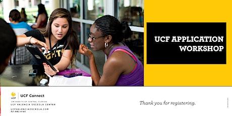 UCF Valencia Osceola:  UCF Application Workshop tickets