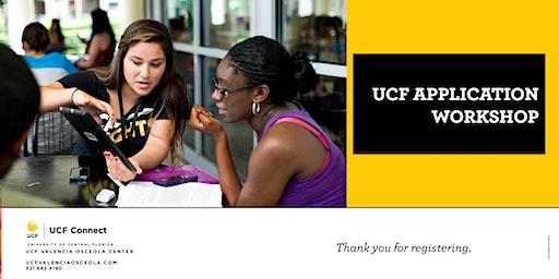 UCF Valencia Osceola:  UCF Application Workshop
