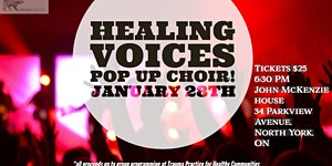 Healing Voices - Pop Up Choir Fundraising Event for...