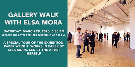 Gallery Walk with Elsa Mora tickets