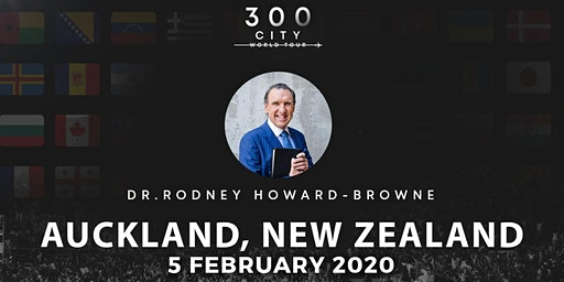 Rodney Howard-Browne in Auckland, New Zealand