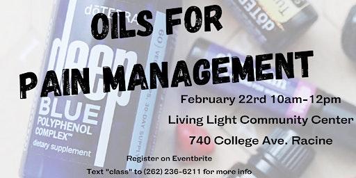 Oils for Pain Management