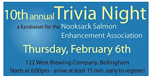 Nooksack Salmon Enhancement Associations 10th Annual Fish Trivia Night
