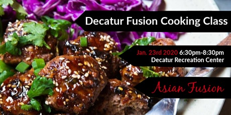 ASIAN FUSION COOKING CLASS tickets